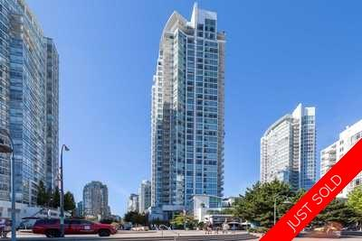 Yaletown Condo for sale: Aquarius I 1 Bedroom & Den  789 sq.ft.
